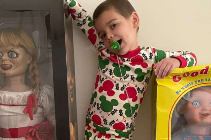 Kourtney Kardashian Gifts Five-Year-Old Son Reign Disick Annabelle And Chucky Dolls For Christmas