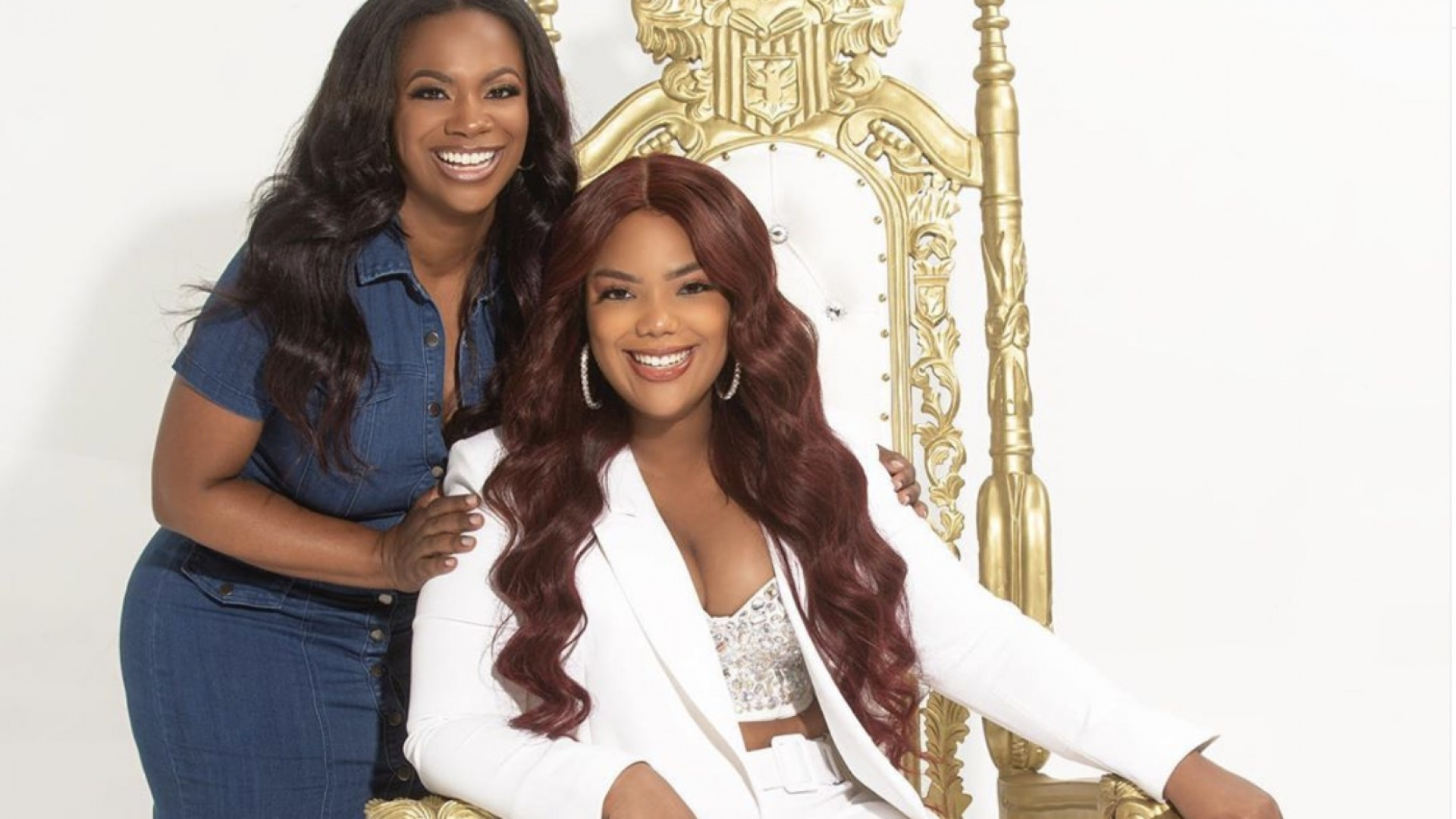 Kandi Burruss Shares A Gorgeous Glam Photo Of Riley Burruss - See It Here