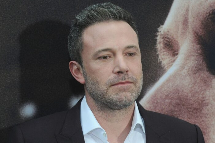 Ben Affleck Struggles To Balance Coffee And Packages While His Pants Threaten To Fall Down - Pics!
