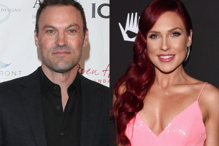 Brian Austin Green Gushes Over Sharna Burgess As He Opens Up About Their Relationship For The First Time - Video!
