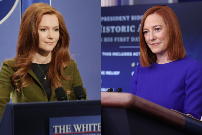 Jen Psaki Grabs The Attention Of 'Scandal' Fans Who Can't Get Over How Much The New White House Press Secretary Resembles Abby And Even The Character Reacts!
