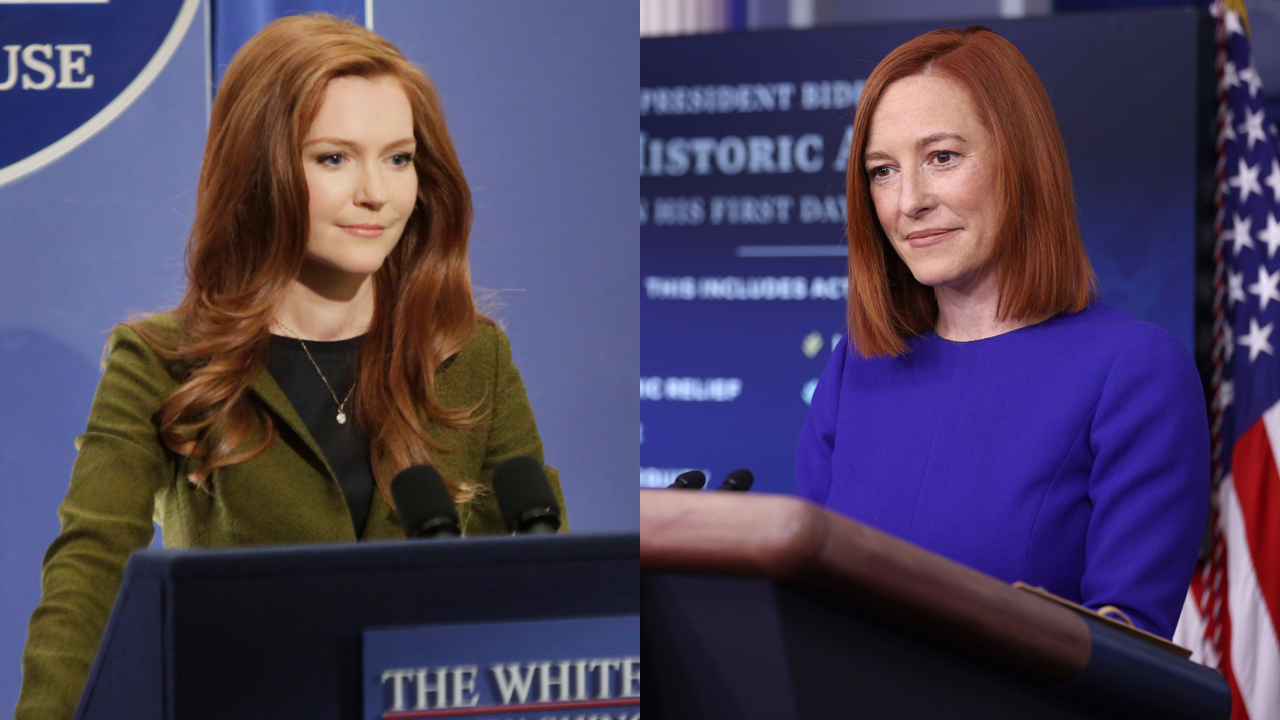 """""""jen-psaki-grabs-the-attention-of-scandal-fans-who-cant-get-over-how-much-the-new-white-house-press-secretary-resembles-abby-and-even-the-character-reacts"""""""