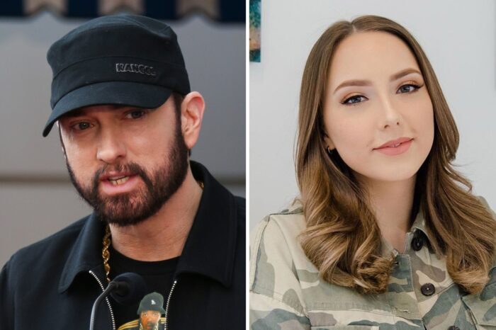 Eminem's Daughter Hailie Stuns In Leather Jacket And Shares Positive Message