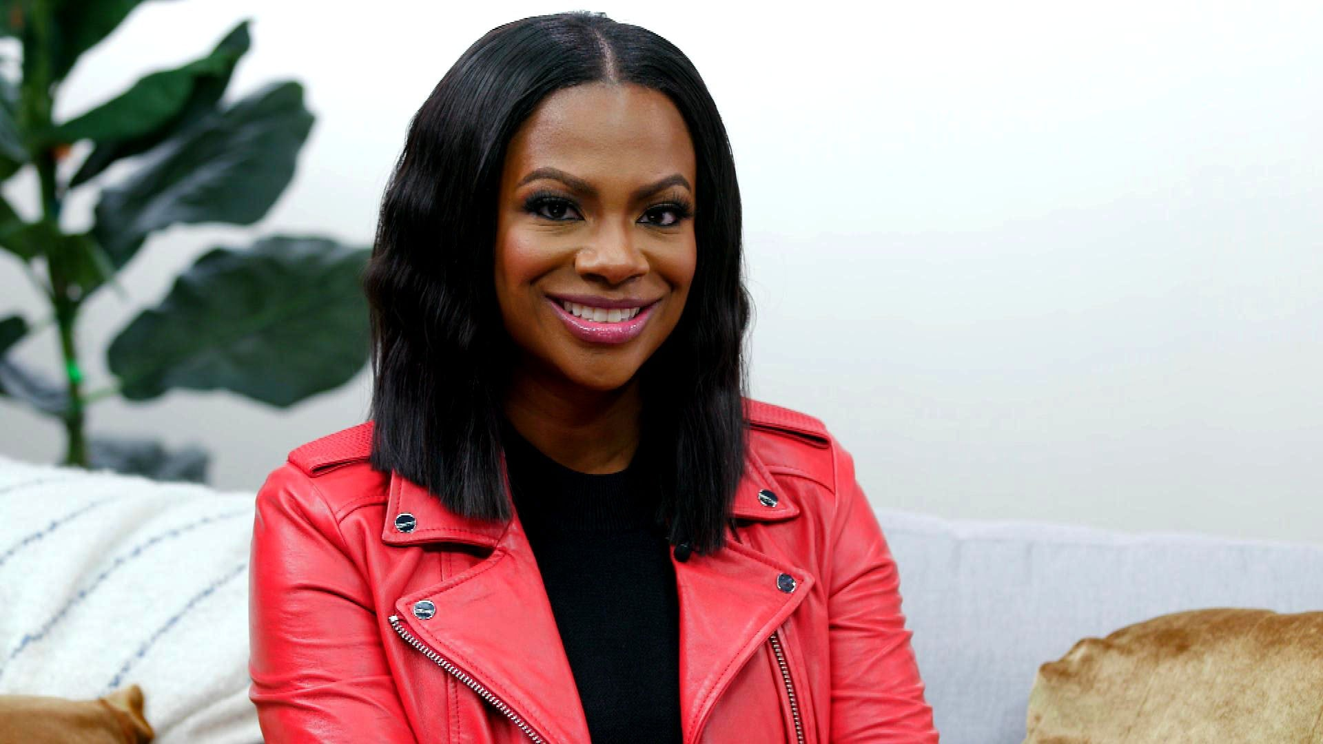 Kandi Burruss Shows Off A New Look In This Latest Dress