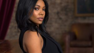 Gabrielle Union Looks Gorgeous In This Green Dress