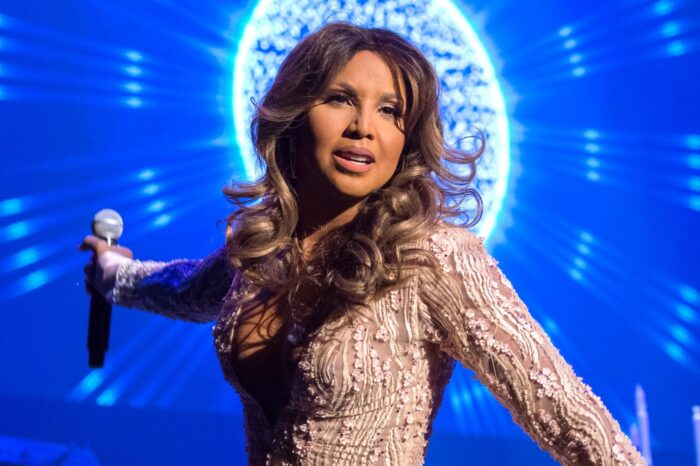 Toni Braxton Looked Stunning In Her NYE White Gown - See Her Photo