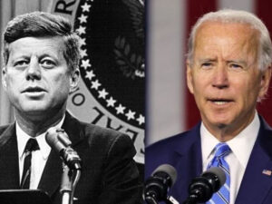 President Joe Biden Is The Second Catholic To Hold Office, Follows John F. Kennedy