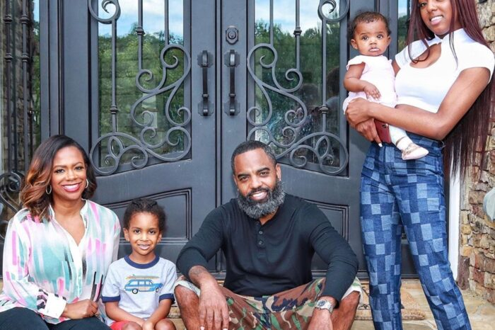 Todd Tucker Poses With The Young Crew: See Ace And Baby Blaze Smiling!