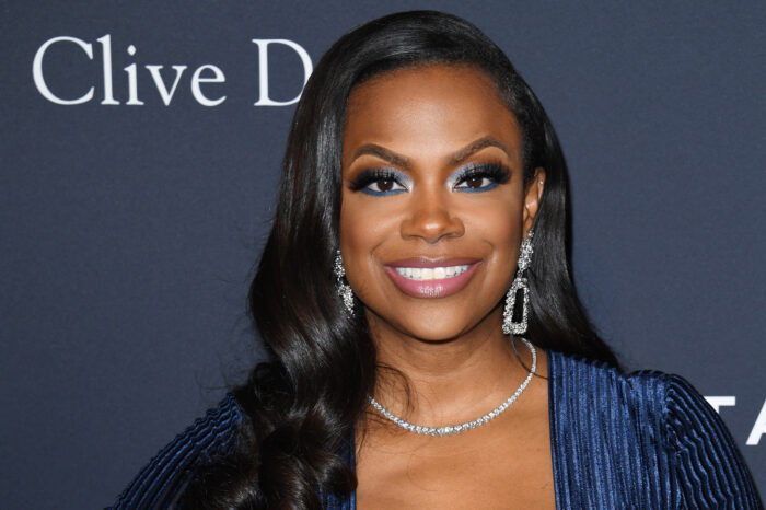 Kandi Burruss Shares A Gorgeous Look For Fans On Social Media - Check Her Out In This Blue Dress