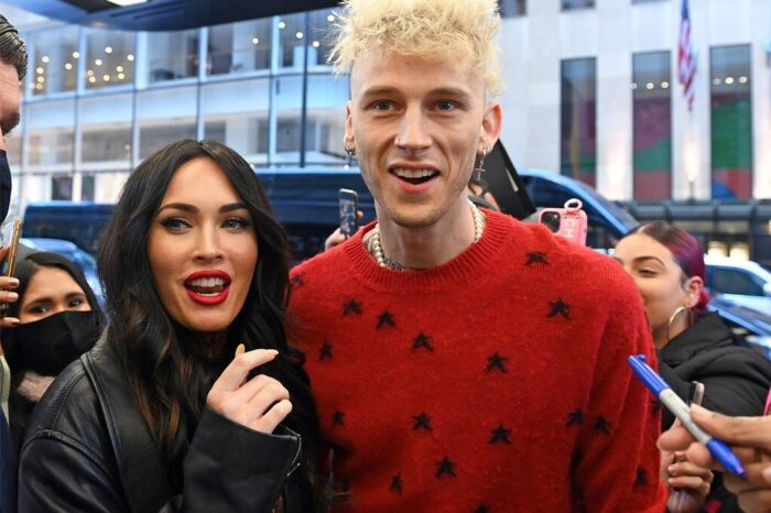 Megan Fox Gushes Over Machine Gun Kelly Following His First 'Saturday Night Live' Performance