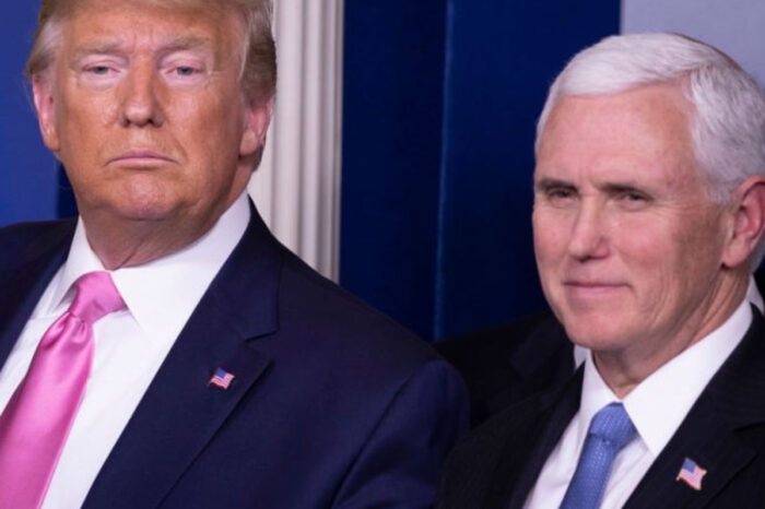 Donald Trump And Mike Pence Left Letters At The White House For President Joe Biden And VP Kamala Harris