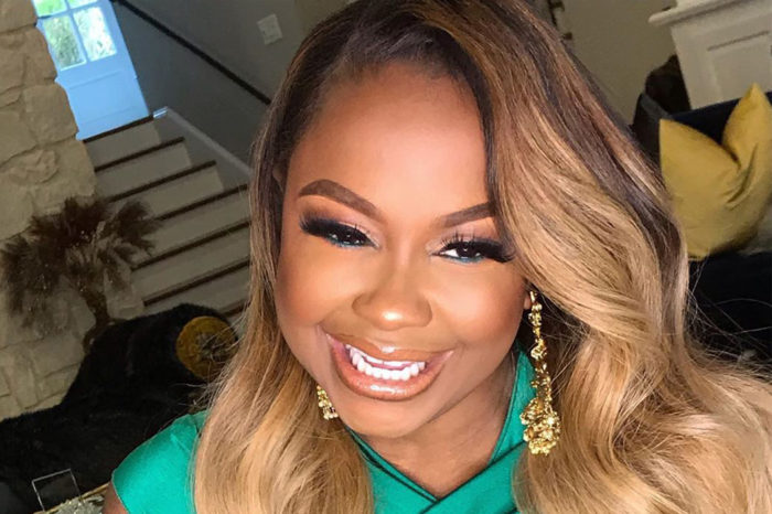 Phaedra Parks Looks Gorgeous For NYE - See Her All-Black Outfit