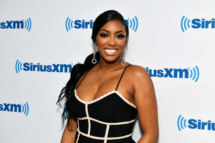 Porsha Williams Flaunts Her Beach Body In This Neon Green Swimsuit