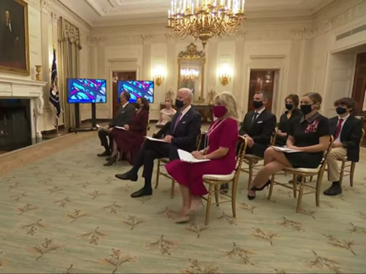 Celebrity Breaking News - President Joe Biden Started His First Full Day In Office With An Interfaith, Virtual Prayer Service — Watch It Now | NewsBurrow thumbnail