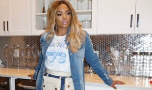 Rasheeda Frost Looks Gorgeous In This Black And White Outfit - See Her Clip
