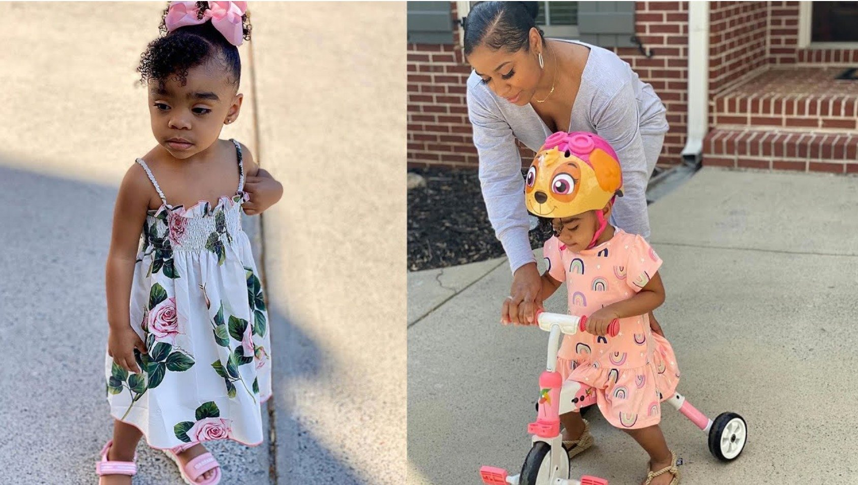 Toya Johnson Shares New Clips Featuring Baby Reign Rushing And Makes Fans Smile - Watch Them Here