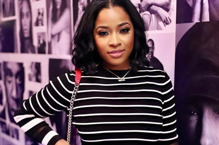 Toya Johnson Officially Becomes 'Yummy Girl' - Check Out Her Announcement