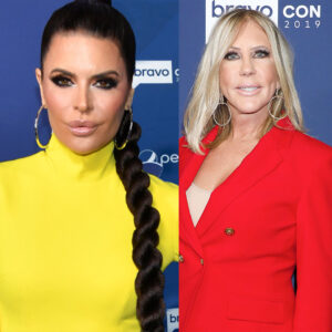 Vicki Gunvalson Says Lisa Rinna Looked Down On Her At Bravo Con Last Year And Slams Her For It!
