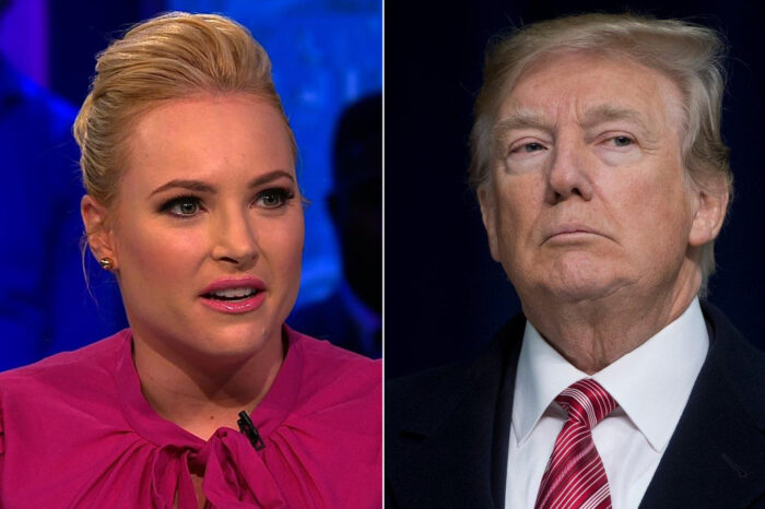 Meghan McCain Compares Donald Trump To Godzilla - Warns People He's Not Gone!