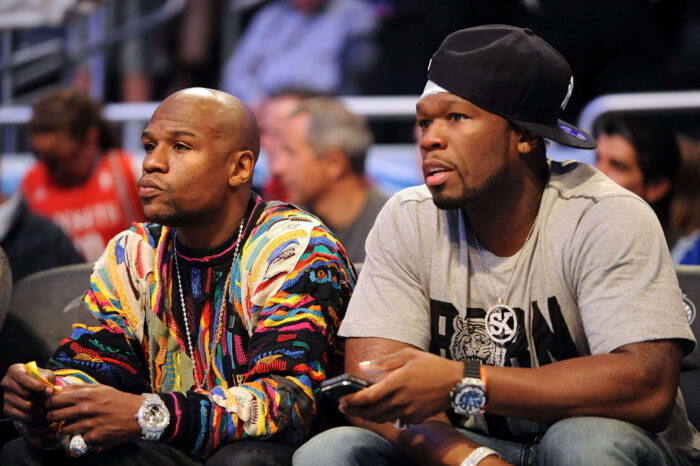 Floyd Mayweather Is Interested In Fighting 50 Cent In Exhibition Match
