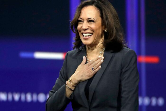 Kamala Harris Makes Surprise Appearance At 'Premio Lo Nuestro' And Shows Love To Latin Artists In Her Inspiring Speech!