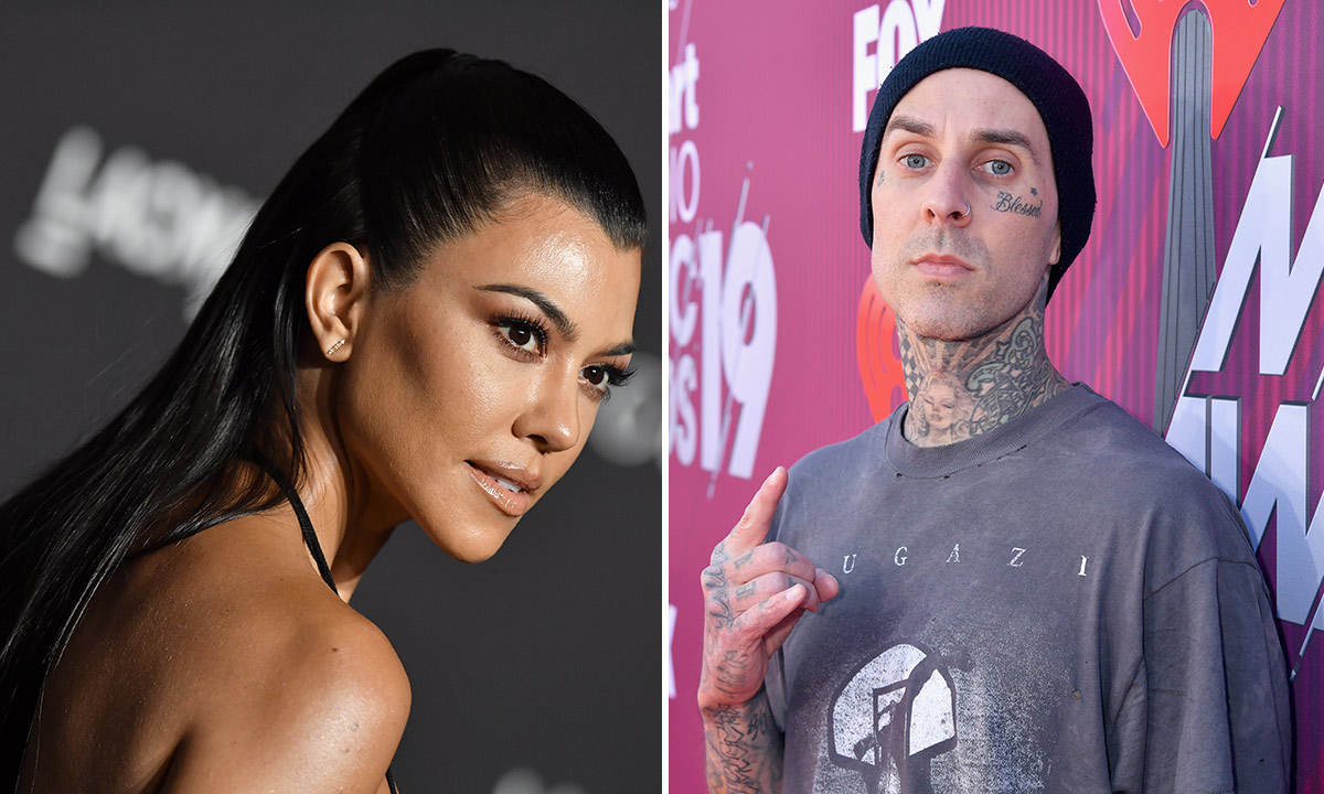 Kourtney Kardashian And Travis Baker Continue To Spark Dating Rumours