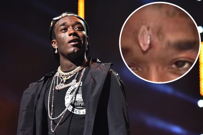 Lil Uzi Vert Gets $24 Million Pink Diamond Imbedded In His Forehead - Videos!