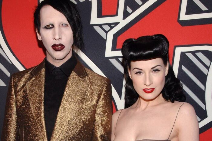Marilyn Manson Lured Dita Von Teese By Saying He Wanted Her To Star In A Video