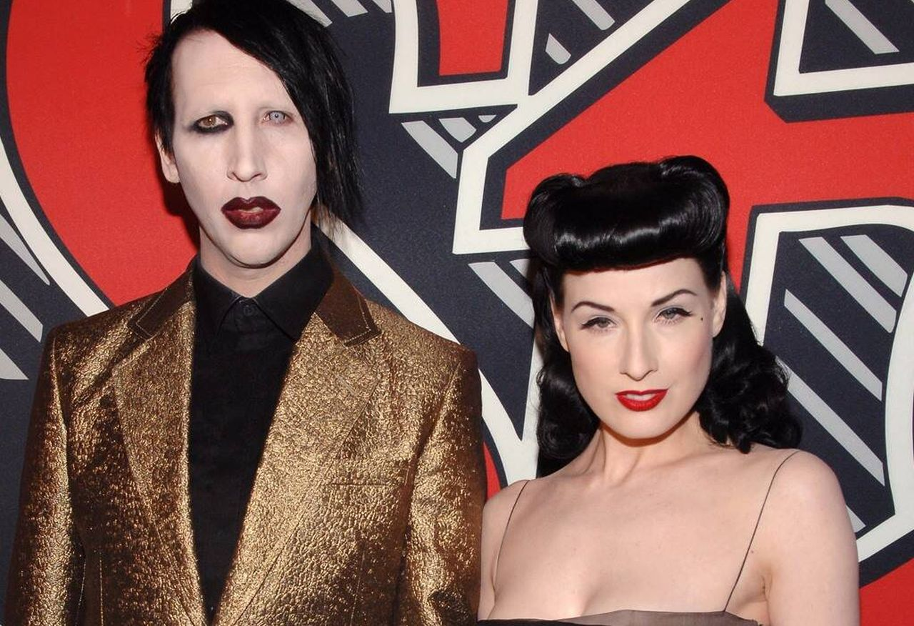 marilyn-manson-lured-dita-von-teese-by-saying-he-wanted-her-to-star-in-a-video