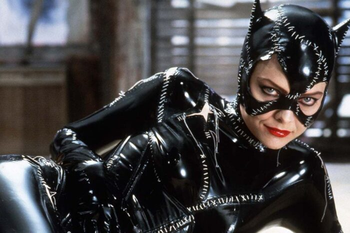 Michelle Pfeiffer As Catwoman Whipping The Heads Off Mannequins Is The Latest Viral Video