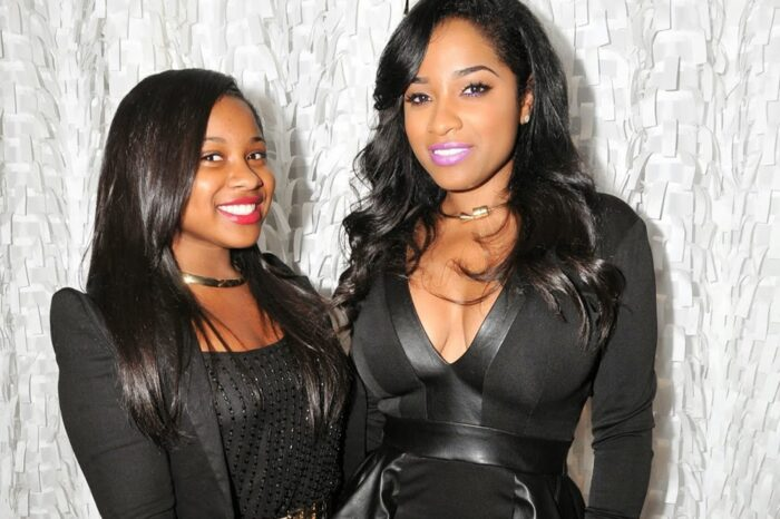Toya Johnson Looks Glamorous Together With Reginae Carter - See Their Short Clip Together