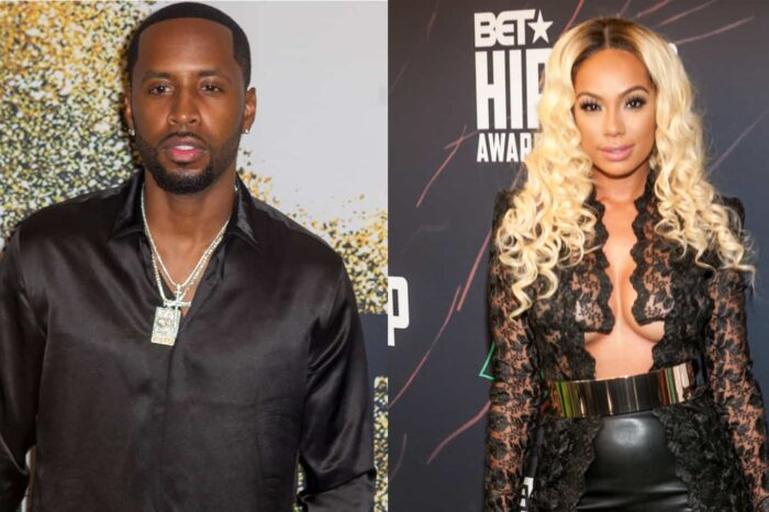 Safaree Reveals A New Facial Expression For Safire Majesty - Check Out The Cute Clip