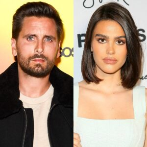 Scott Disick's Celebrity Barber Shares How His GF Amelia Hamlin Feels About Her Man Getting Pink Hair!