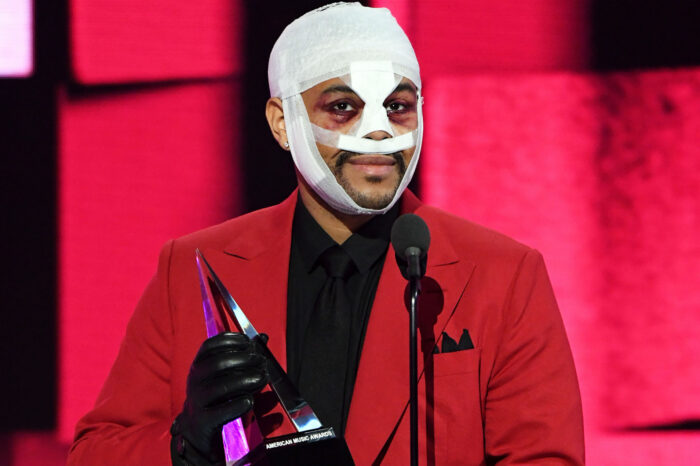 The Weeknd - Here's The Story Behind His Bruised And Bandaged Face!