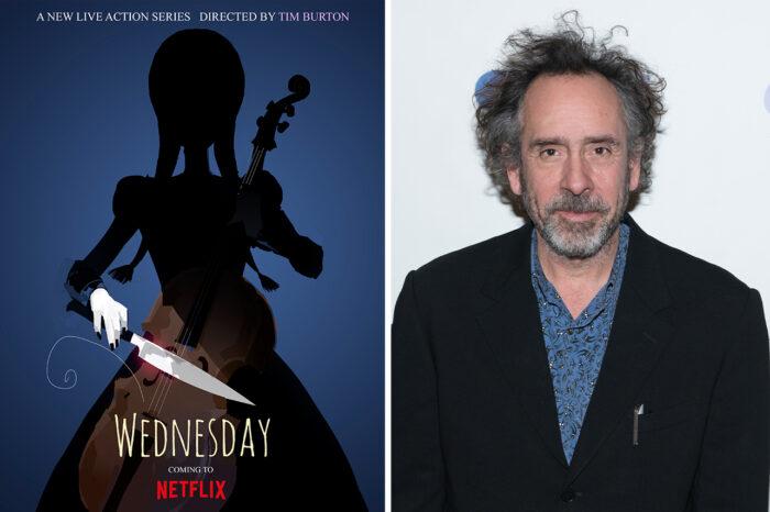 Tim Burton To Direct Wednesday Addams Netflix Series - Details!