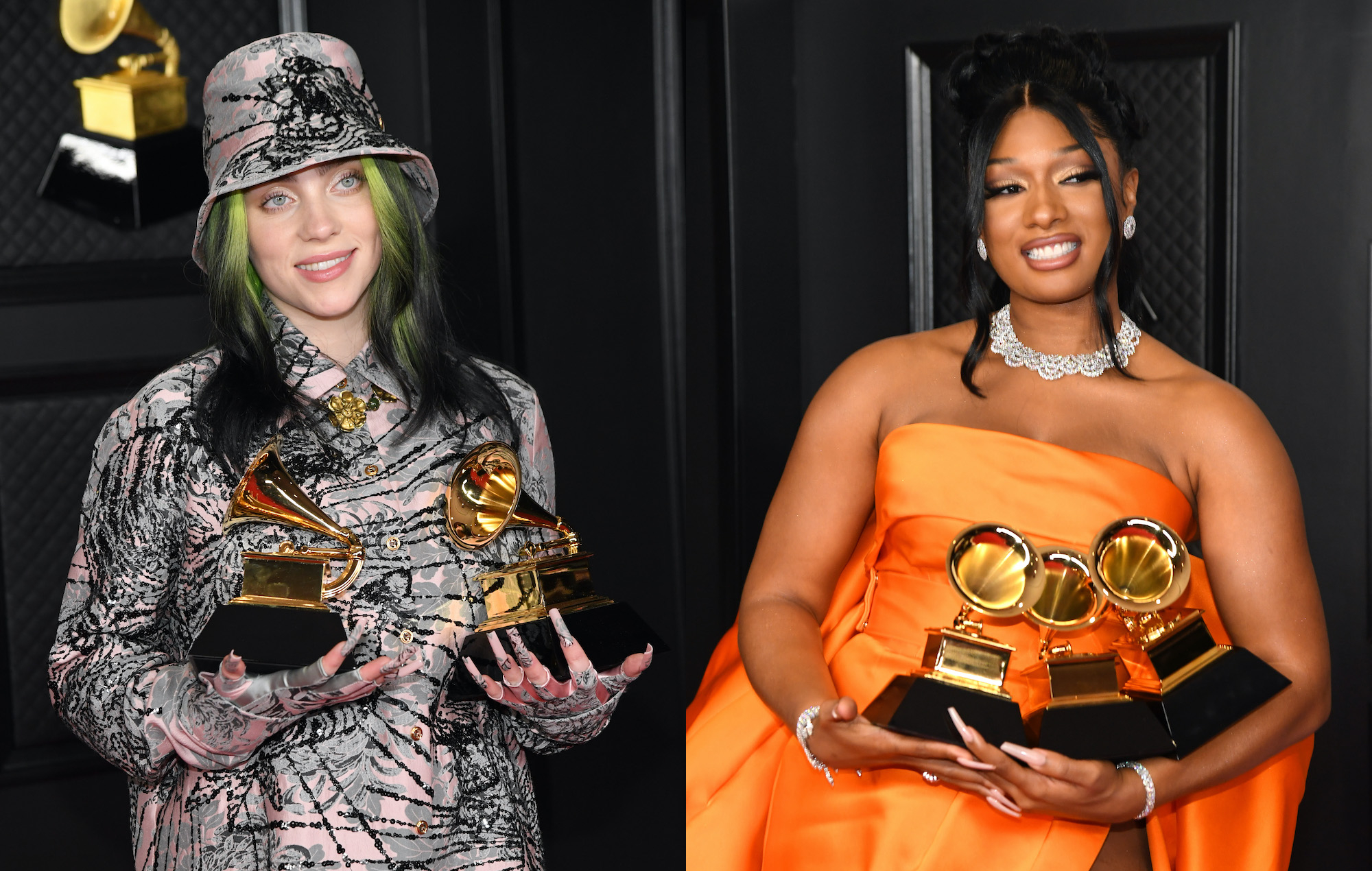 """""""billie-eilish-gushes-over-megan-thee-stallion-during-grammy-acceptance-speech-says-she-deserved-to-win-record-of-the-year-instead"""""""