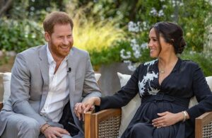 Meghan Markle Praised For Giorgio Armani Outfit During Oprah Winfrey Interview