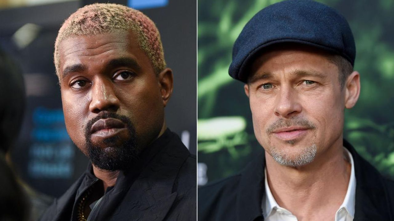 is-kanye-west-turning-to-brad-pitt-for-support-during-his-divorce-to-kim-kardashian