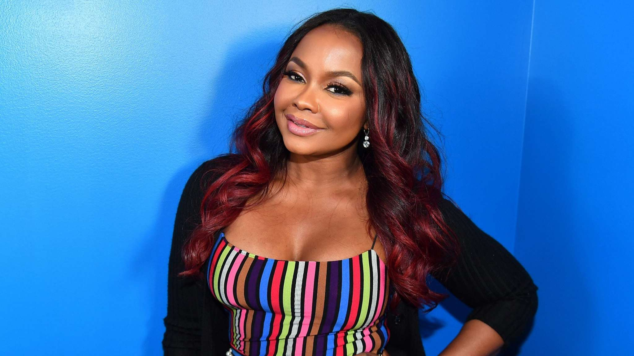 phaedra-parks-is-a-modern-day-poison-ivy-in-this-dress-check-out-the-post-that-she-shared-on-social-media