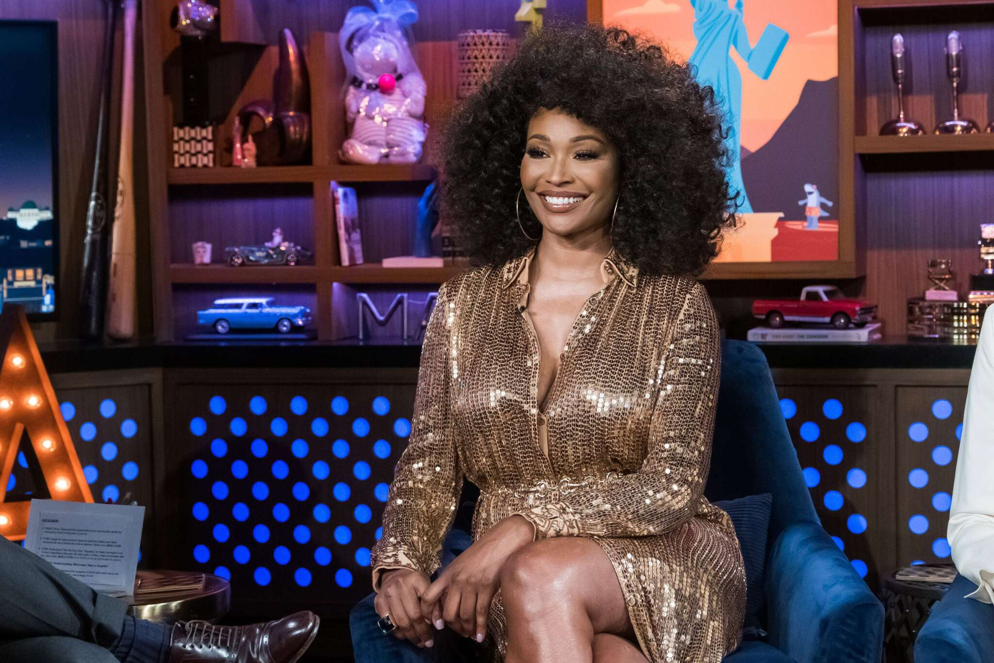 cynthia-bailey-looks-gorgeous-in-this-golden-outfit-see-her-latest-pics