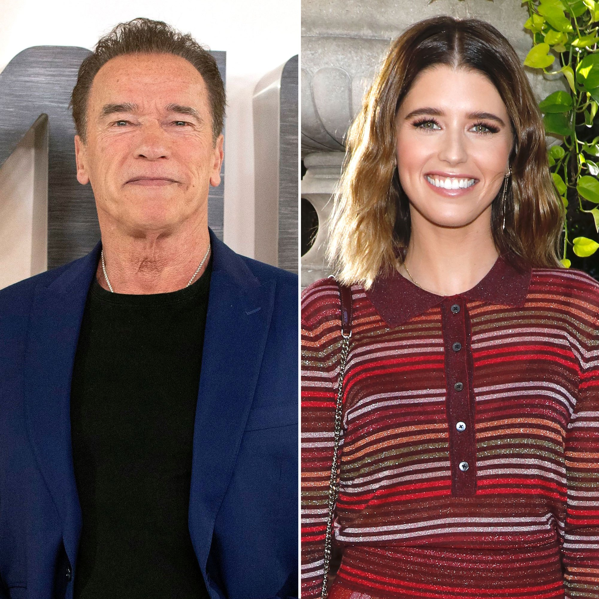"""""""arnold-schwarzenegger-says-his-daughter-katherine-freaks-out-every-time-he-gets-close-to-her-baby-with-chris-pratt-heres-why"""""""