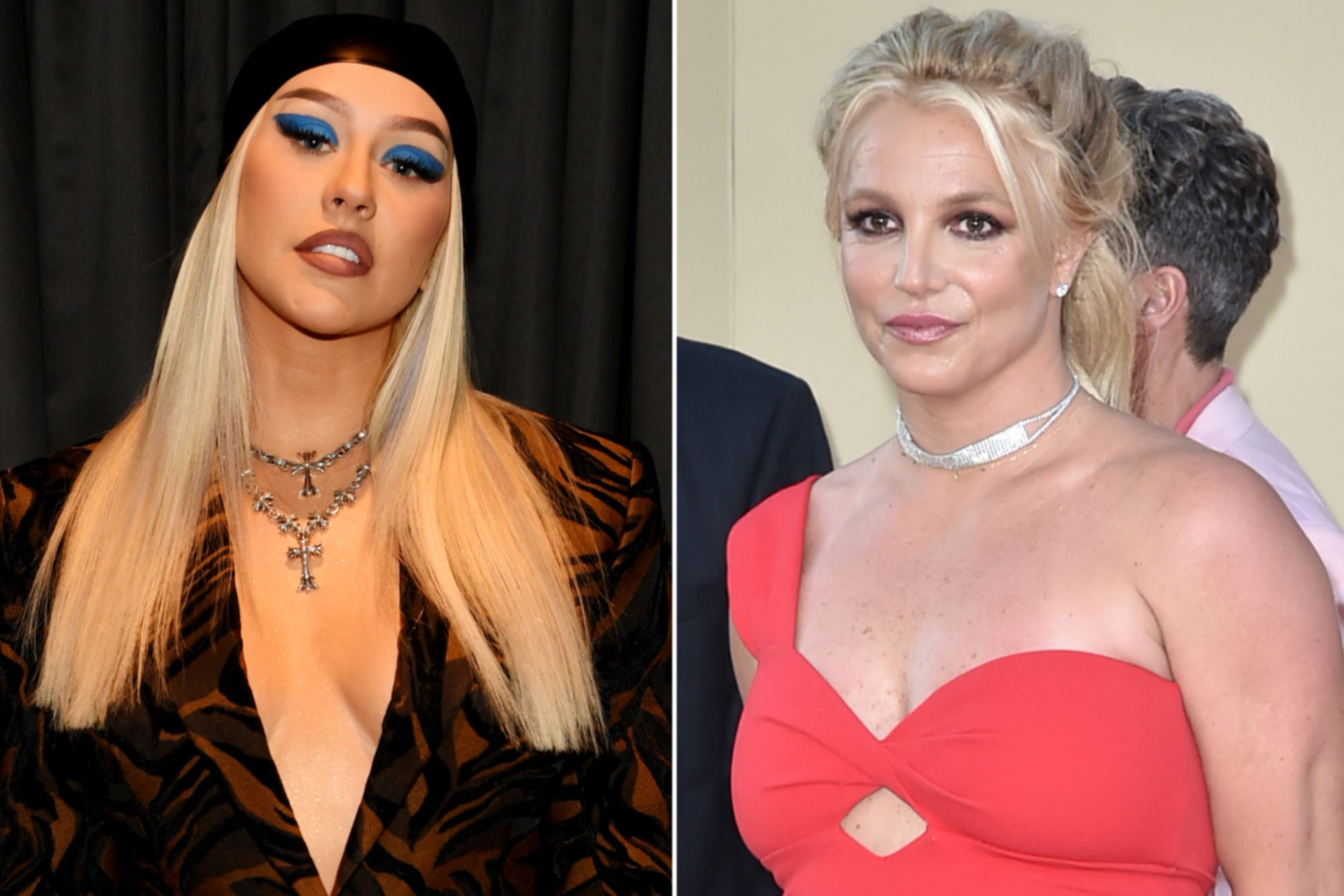 """""""christina-aguilera-shows-amazing-support-to-britney-spears-after-opening-up-about-her-conservatorship"""""""