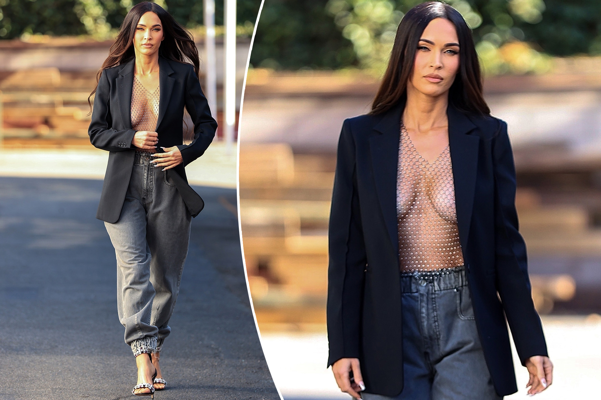 megan-fox-stuns-in-open-blazer-with-nothing-underneath-during-outing