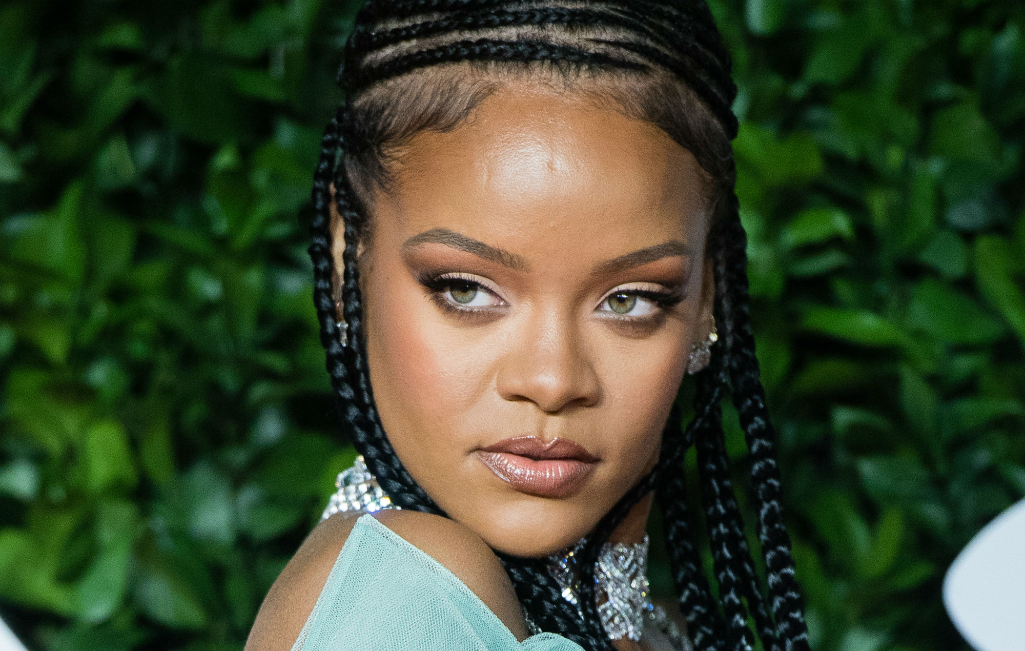Rihanna Looks Sultry And Mysterious In A Sheer New Lingerie Set From Her Collection – Check It Out!