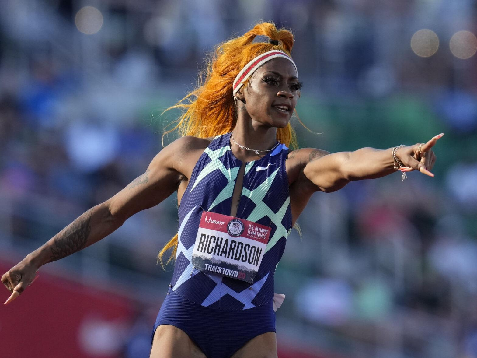 """""""sha-carri-richardson-made-first-appearance-following-olympics-controversy"""""""